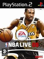 Hra pre Playstation 2 NBA Live 08