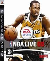 Hra pre Playstation 3 NBA Live 08