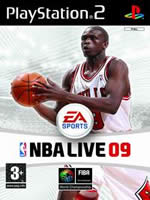 Hra pre Playstation 2 NBA Live 09