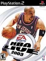 Hra pre Playstation 2 NBA Live 2003