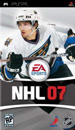 Hra pro PSP NHL 07