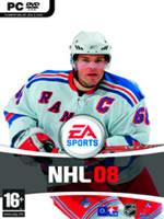 Hra pre PC NHL 08 EN