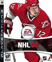 Hra pre Playstation 3 NHL 08