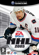 Hra pre GameCube NHL 2005