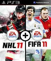 Hra pre Playstation 3 NHL 11 CZ + FIFA 11 CZ