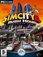 Hra pre Macintosh Sim City 4: Rush Hour - datadisk