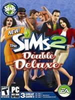 Hra pre PC The Sims 2 Double Deluxe (hra + datadisky Nočný život + Poďme sláviť! + Bonus DVD)