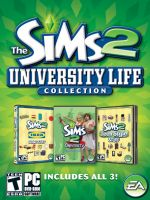 Hra pre PC The Sims 2: Univerzita + IKEA (kolekce) + Pro Teenagery (kolekce)