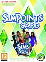 Hra pre PC The Sims 3 Store - 1000 bodov