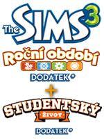 Hra pre PC The Sims 3 - Roční období + Studentský život (Limitovaná edícia)