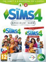 Hra pro PC The Sims 4 + rozšíření Psi a Kočky