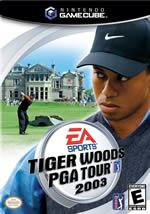 Hra pre GameCube Tiger Woods PGA 2003