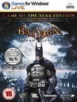Hra pre PC Batman: Arkham Asylum (Game of the Year Edition)