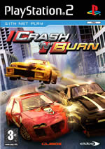 Hra pre Playstation 2 Crash N Burn