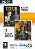 Hra pre PC Tomb Raider 3 Adventures of Lara Croft + Tomb Raider 4 The Last Revelation