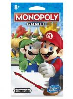 Stolní hra Monopoly - Gamer Edition Figure Pack (Luigi)