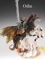 Final Fantasy IX - Master Creatures Series 2: Odin - figúrka