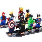 Figúrky Super Heroes mini (8 kusov)