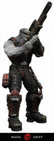Gears of War: Locust Sniper - figúrka