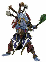 World of Warcraft - figúrka - Jungle Troll Mini