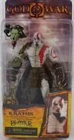God of War: Kratos s hlavou medúzy - figúrka