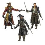 Figúrky (McFarlane) Assassins Creed: Golden Age of Piracy (set 3 pirátov)
