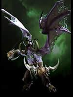 World of Warcraft - figúrka - Illidan Stormrage Deluxe (poškodený kus)