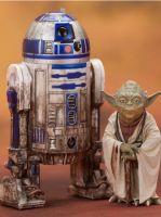 Hračka Figurka Star Wars - R2-D2 + Yoda ArtFX