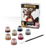 Stolní hra Citadel Khorne Bloodbound Paint Set (7 barev a štětec)