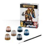 Stolní hra Citadel Stormcast Eternals Paint Set (6 barev a štětec)