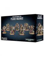 Stolní hra W40k: Death Guard: Plague Marines (7 figurek)