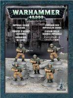 Stolní hra W40k: Imperial Guard Cadians (5 figurek)