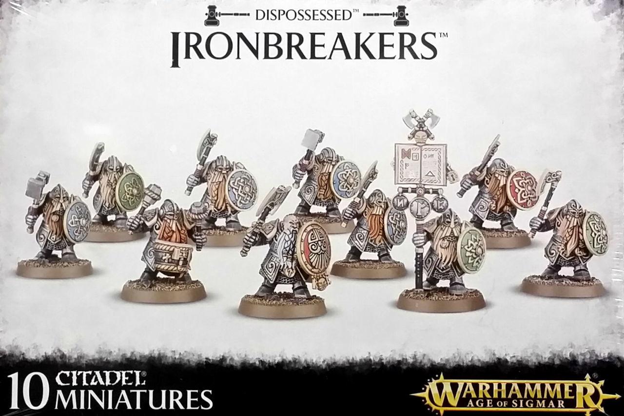 W-AOS: Dispossessed Ironbreakers (10 figúriek)