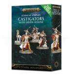 Stolová hra W-AOS: Stormcast Eternals - Castigators with Gryph-hound (4 figúrky)