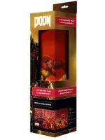 Herné príslušenstvo Veľká podložka pod myš Doom - Retro