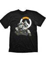 Herné tričko Tričko Overwatch - Winston Logo (veľkosť M)