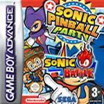 Hra pre Gameboy Advance Balík her: Sonic Pinball + Sonic Battle