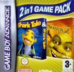 Hra pre Gameboy Advance Double pack Shrek 2 & Shark Tale