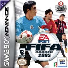 Hra pre Gameboy Advance FIFA 2005