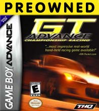 Hra pre Gameboy Advance GT Advance