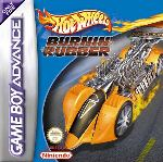 Hra pre Gameboy Advance Hot Wheels Burnin Rubber