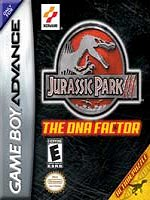 Hra pre Gameboy Advance Jurassic Park - The DNA Factor