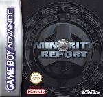 Hra pre Gameboy Advance Minority Report