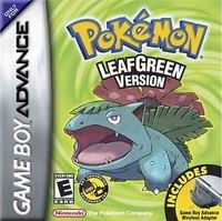 Hra pre Gameboy Advance Pokémon Leaf Green + Wireless Adapter