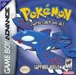 Hra pre Gameboy Advance Pokémon Sapphire