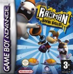 Hra pre Gameboy Advance Rayman Raving Rabbids