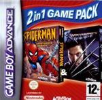 Hra pre Gameboy Advance Double pack Spiderman Mysterio & XMen Wolverine