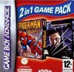 Hra pre Gameboy Advance Double pack Spiderman Mysterio & XMen Wolverine