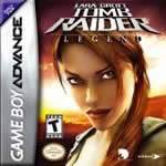 Hra pre Gameboy Advance Tomb Raider: Legend