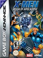 Hra pre Gameboy Advance X-Men Reign of Apocalypse